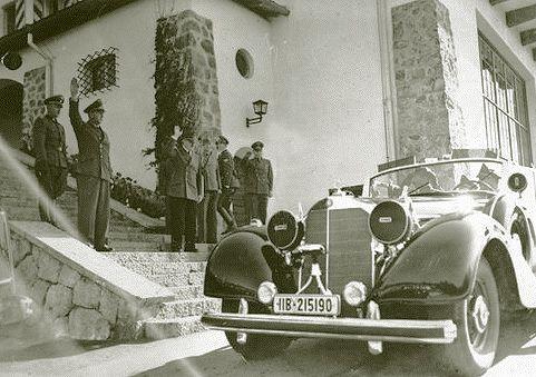 Hitler Berghof steps