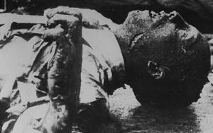 Goebbels Corpse