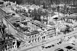 Reich Chancellery Berlin destroyed